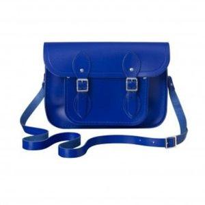 "11"" Cambridge Satchel Crossbody Bag Sapphire Blue"